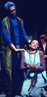 Christopher Deane as Sarastro, Kathleen Battle as Pamina