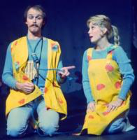 Ron Raines as Papageno, Robin Ross as Papagena