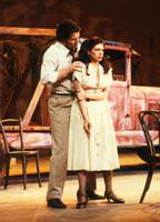 Marianna Christos as Nedda, David Parsons as Silvio