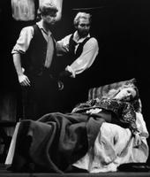 Stephen Dickson as Marcello, Norman Andersson as Colline, Karen Hunt as Mimi. Cast 2