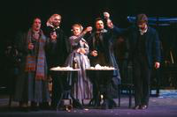 Stephen Dickson as Marcello, Norman Andersson as Colline, Karen Hunt as Mimi, George Livings as Rodolfo, Thomas J. Stallone as Schaunard. Cast 2