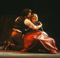 George Livings as Rodolfo, Karen Hunt as Mimi. Cast 2