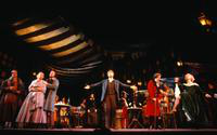 Stephen Dickson as Marcello, Karen Hunt as Mimi, George Livings as Rodolfo, Thomas J. Stallone as Schaunard, Tony Dillon as Alcindoro, Jan Albright as Musetta, ensemble. Cast 2