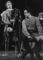 Charles Long as Rigoletto, Riccardo Calleo as Duke of Mantua. Cast 1