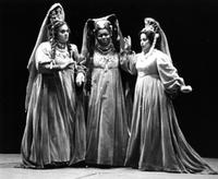 Ruth Jacobson, Claritha Buggs, Jill Leasure as the Three Ladies