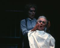 David Cryer as Sweeney Todd, Eric Johnson as Judge Turpin
