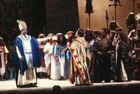 Z. Edmund Toliver as King of Egypt, James McCracken as Radames, James Dietsch as Amonasro,  Leona Mitchell as Aida