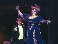 Andre Jobin as Gabriel von Eisenstein, Marilyn Mims as Rosalinda