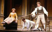 Cheryl Parrish as Susanna, Kathleen Segar as Cherubino, Petteri Salomaa as Figaro