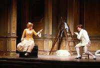 Cheryl Parrish as Susanna, Andreas Poulimenos as Count Almaviva