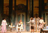 Benita Valente as Countess Almaviva, Cheryl Parrish as Susanna, Petteri Salomaa as Figaro, David Ludwig as Antonio, Andreas Poulimenos as Count Almaviva