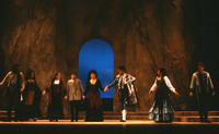 Tyron Jolivet as Remendado, Barbara Youngerman as Mercedes, Jeralyn Refeld as Frasquita, Peter Kelen as Don Jose, Cleopatra Ciurca as Carmen, E. Mark Delavan as Escamillo (Toreador), Stenphanie Friede as Micaela, Stephen Bryant as Zuniga. Cast 1