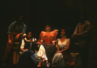 David Jackson as Dancairo, Barbara Youngerman as Mercedes, Cleopatra Ciurca as Carmen, Stephanie Friede as Micaela, Tyrone Jolivet as Remendado. Cast 1