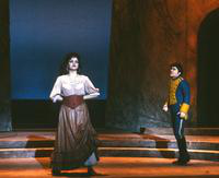 Cleopatra Ciurca as Carmen, Peter Kelen as Don Jose. Cast 1