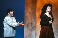 Peter Kelen as Don Jose, Cleopatra Ciurca as Carmen. Cast 1
