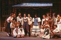 Kathleen Hegierski as Hansel, Janet Williams as Gretel, ensemble