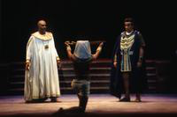 Kevin Bell as Ramfis, Ruben Dominguez as Radames