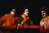 Craig Estep as Pong, Peter Blanchet as Pang, Ron Baker, Ping