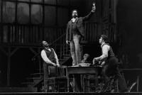 Kevin Short as Colline, Elias Mokole as  Schaunard, Frank Hernandez as Marcello