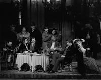 Elias Mokole as Schaunard, Helen Donath as Mimi, Marcello Giordani as Rodolfo, Kevin Short as Colline, Frank Hernandez as Marcello, Jan Grissom as Musetta. Cast 1
