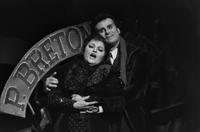 Helen Donath as Mimi, Marcello Giordani as Rodolfo. Cast 1