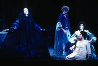 Elizabeth Carter as Queen of the Night, Emily Benner as First Lady, Julie Devaere as Second Lady, Thersea Santiago, Pamina