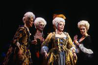 Julie De Vaere as Rosette, Ruth Ann Swenson as Manon, Emily Brenner as Javotte. Cast 1
