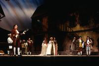 Allen Schrott as Innkeeper, Julie De Vaere as Rosette, Karen Driscoll as Pousette, Emily Benner as Javotte, John Robert Autry as Lescaut, Rodney Stenborg as De Bretigny ;  ensemble
