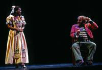 Janet Williams as Adina, Thomas Hammons as Doctor Dulcamara