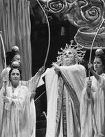 Alessandra Marc as Turandot, ensemble. Cast 1