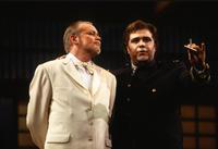 Carlo Ventre as Pinkerton, Victor Ledbetter as Sharpless. Cast 2