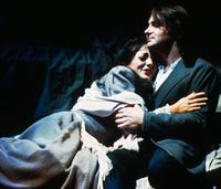 Francesca Pedaci as Mimi, Francesco Groll as Rodolfo. Cast 1