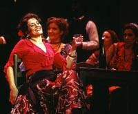 Irina Mishura as Carmen, Eliza Warner as Mercedes. Cast 1