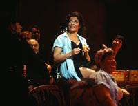 Irina Mishura as Carmen, ensemble. Cast 1