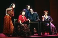 Eliza Warner as Mercedes, Irina Mishura as Carmen, Terence Murphy as Le Dancairo, Matthew Tuell as Le Remendado, Nicolle Foland as Micaela. Cast 1
