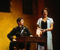 Salvador Ginori as Zuniga, Irina Mishura as Carmen. Cast 1