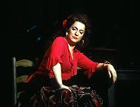 Irinia Mishura as Carmen. Cast 1