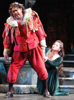 Gordon Hawkins as Rigoletto, Ying Huang as Gilda. Cast 1