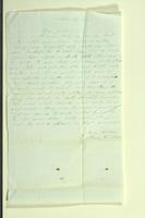Letter from John Van Riper to Henry Van Riper, March 28, 1855