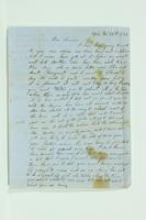Letter from [Yilder?] to Henry and Willis, February 22, 1857