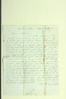 "Letter from H.A. Van Riper to ""Dear Nephew,"" January 22, 1860"