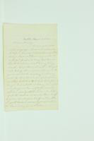 Letter from Bill Van Riper to Henry Van Riper, January 26, 1860