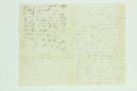 Letter from A.W. Van Riper to Henry Van Riper, May 26, 1863