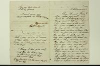 Letter from Joshua Benster to Henry Van Riper, 1864