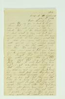 Letter from Alexander Van Riper to Henry Van Riper, January 19, 1864