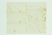 "Letter from unknown to ""Dear Cousin,"" January 17, 1865"