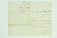 Letter from Jennie Benster to Henry Van Riper, March 24, 1865