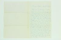 Letter from Henry's Mother to Henry Van Riper, March 29, 1865