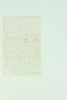 Letter from G. Van Riper to Nick Van Riper, March 20, 1880