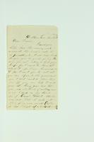 "Letter from Joshua Giles Benster to ""Dear Friend"", November  2[…], 1886"